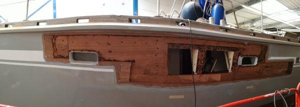 Moby Dick III auf Böbs-Werft