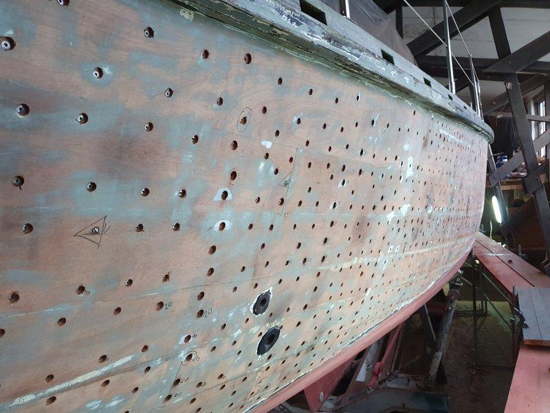 Moby Dick III freigelegtes Überwasserschiff