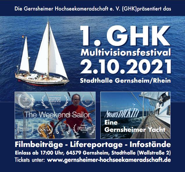 1. GHK Multivisionsfestival am 2.10.2021