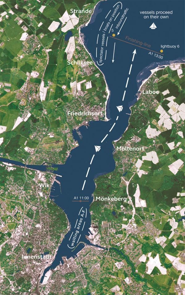 Kieler Woche 2021 Windjamerparade