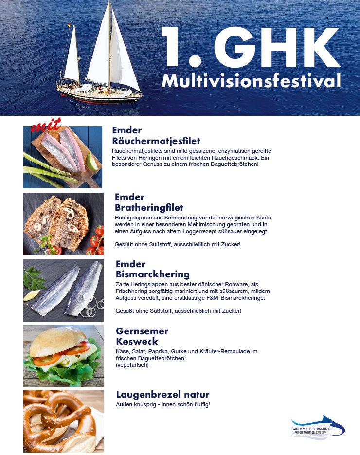 Maritime Leckereien beim 1.GHK Multivisionsfestival