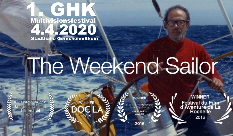 1. GHK Multivisionsfestival mit preisgekrönter Dokumentation 'Weekend Sailor'